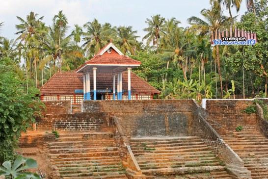 മനക്കുളങ്ങര വിഷ്ണു ക്ഷേത്രം.