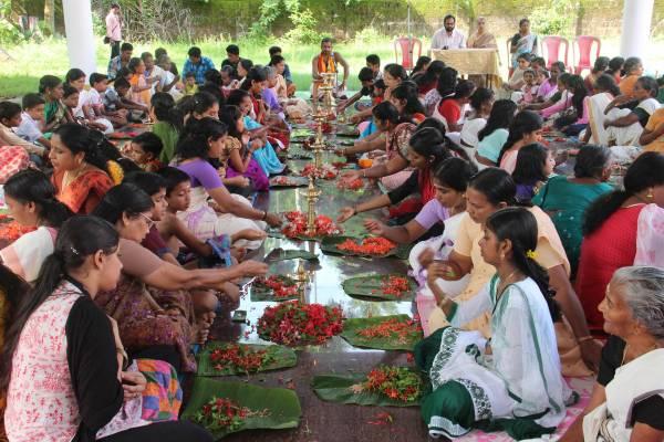 തേശ്ശേരി ചീക്കാമുണ്ടി ശ്രീമഹാവിഷ്ണുക്ഷേത്രത്തില് സാധുജനസഹായനിധി വിതരണവും അശ്വതി അര്ച്ചനയും നടന്നു