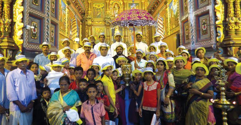 കനകമല കുരുശുമുടി 8-ാം ഘട്ട ദീപ പ്രയാണം ആരംഭിച്ചു