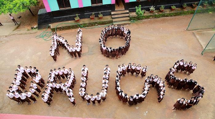 മറ്റത്തൂര് ശ്രീ കൃഷ്ണ സ്കൂളില് ലഹരി വിരുദ്ധ സെമിനാറും വിദ്യാര്ത്ഥി ഇന്സ്റ്റലേഷനും സംഘടിപ്പിച്ചു