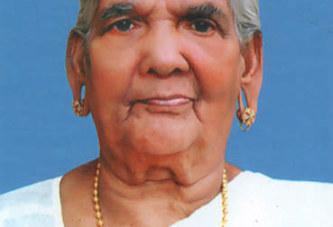 പന്തല്ലൂര് ആറ്റുവളപ്പില് വീട്ടില് പരേതനായ കൊച്ചുണ്ണിയുടെ ഭാര്യ തങ്ക (94) നിര്യാതയായി