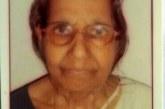 വെല്ലപ്പാടി ഏറാട്ട് കിഴക്കിനിയേടത്ത് മനയ്ക്കല് പരേതനായ ശ്രീധരന്നമ്പൂതിരിയുടെ ഭാര്യ ദേവകി അന്തര്ജനം(82) നിര്യാതയായി