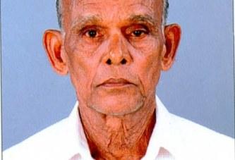 മറ്റത്തൂര് – കാവനാട് പോളയില് വീട്ടില് കേശവന് (89) നിര്യാതനായി.