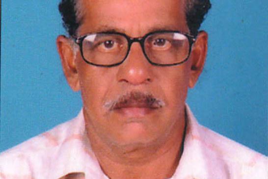 ആനത്തടം ഞാറേക്കാട്ടില് വീട്ടില് പരേതനായ കൊച്ചുരാമന്റെ മകന് ശങ്കരന്കുട്ടി (68) നിര്യാതനായി.