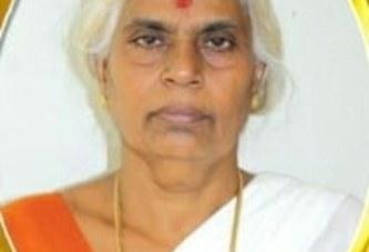 ചാമപ്പറമ്പില് മാരാത്ത് പരേതനായ പീതാംബരമാരാരുടെ ഭാര്യ ശാന്തകുമാരി(68) നിര്യാതയായി