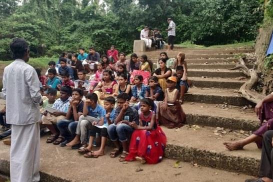 സുപ്രഭ വായനശാല ബാലവേദി ക്യാമ്പ് മഴമാപിനി