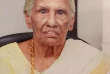 കോടാലി മാങ്കുറ്റിപ്പാടത്ത് പിഷാരത്ത് പരേതനായ ടി.പി.നാരായണപിഷാരടിയുടെ ഭാര്യ സരസ്വതി പിഷാരസ്യാര്(91) അന്തരിച്ചു