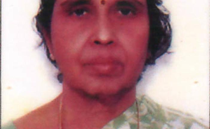 ദാക്ഷായണി ടീച്ചര് (83) നിര്യാതയായി