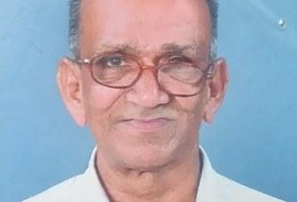 കൊപ്രക്കളം തെക്കേക്കര മംഗലന് വീട്ടില് കുഞ്ഞി പൈലന് മകന് ജോസഫ് (79) അന്തരിച്ചു.