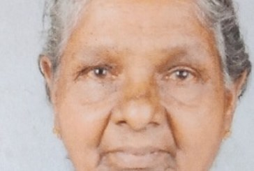 കൊരേച്ചാല് വെള്ളാന്ത്ര പരേതനായ രാമന് ഭാര്യ തങ്ക (88) അന്തരിച്ചു.