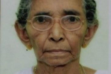 കനകമല കൊട്ടേകാട്ടുകാരന് ചാക്കുണ്ണി ഭാര്യ അന്നം (93) അന്തരിച്ചു.