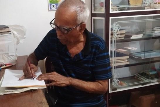 നാട്ടുചരിത്രങ്ങളെ അക്ഷരങ്ങളിലേക്കാവഹിച്ച നാരായണപിഷാരടിയുടെ 15-ാമത്തെപുസ്തകം പുറത്തിറങ്ങി