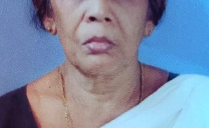 മനക്കുളങ്ങര പോത്തിക്കര വീട്ടിൽ കുട്ടൻ ഭാര്യ മാലതി (76) അന്തരിച്ചു